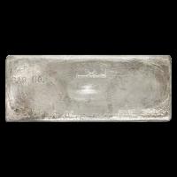 100 oz Sunshine Mint Vintage Silver Bar