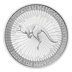 1 oz 2020 Australian Kangaroo Silver Coin