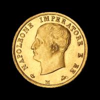 Random Year Italian 40 Lira Gold Coin