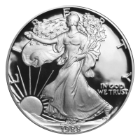 1 oz 1988 American Eagle Proof Silver Coin