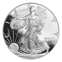 1 oz 1996 American Eagle Proof Silver Coin