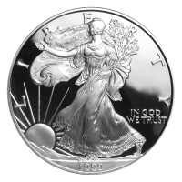 1 oz 1999 American Eagle Proof Silver Coin
