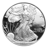 1 oz 2000 American Eagle Proof Silver Coin