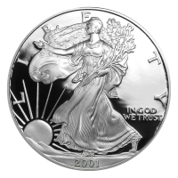 1 oz 2001 American Eagle Proof Silver Coin