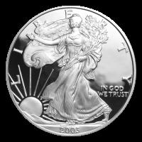 1 oz 2003 American Eagle Proof Silver Coin