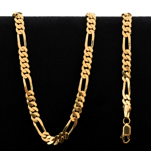 49.4 g 22 kt Figarucci Style Gold Necklace