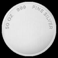 50 gram Assorted Silver Round