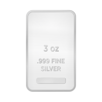 3 oz Assorted Silver Bar