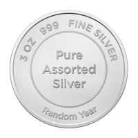 3 oz Assorted Silver Round