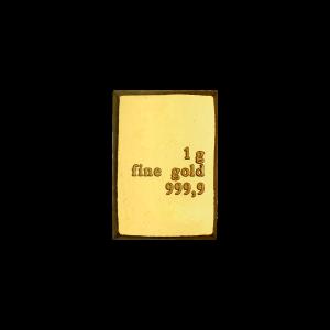 1 gram Assorted Gold Bar