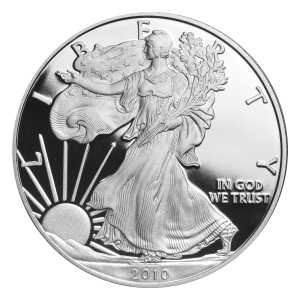 1 oz 2010 American Eagle Proof Silver Coin