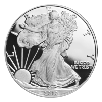 1 oz 2010 American Eagle Proof Silver Coin