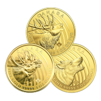 1 oz Random Year Call of the Wild Series Gold Coin