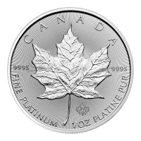 1 oz 2020 Canadian Maple Leaf Platinamynt