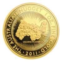 1 oz 2011 Australian Nugget Proof Gold Coin