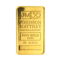10 gram Johnson Matthey Vintage Gold Bar