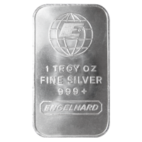 1 oz Engelhard Silver Bar