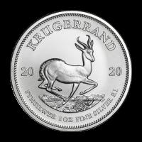 1 oz 2020 Krugerrand Silver Coin