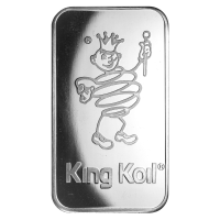1 oz Johnson Matthey King Koil Silver Bar