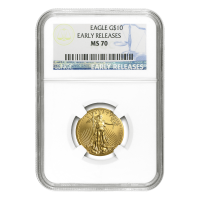 1/4 oz Random Year American Eagle NGC MS-70 Gold Coin