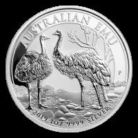 1 oz 2019 Australian Emu Silver Coin