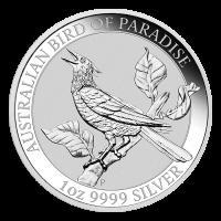 1 oz 2019 Australian Bird of Paradise Silver Coin