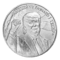 1 oz 2020 President Donald J. Trump Silver Round