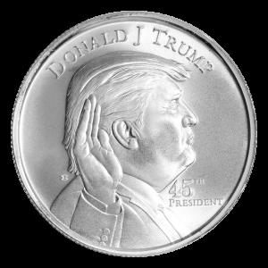 Ronde d'argent Président Donald J. Trump de 1 once