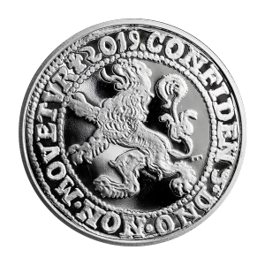 1 oz 2019 Royal Dutch Mint Lion Dollar Restrike Silver Coin