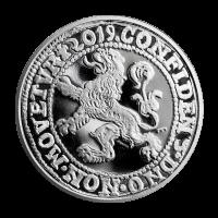 1 oz 2019 Royal Dutch Mint Lion Dollar Restrike Silver Coin