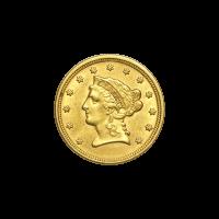 Random Year $2.5 Liberty XF Gold Coin