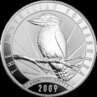 1 kg | kilo 2009 Australian Kookaburra Silver Coin