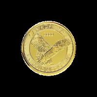 1/4 oz 2018 Canadian Snowy Owl Gold Coin