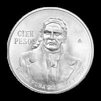 Random Year Mexican 100 Peso Silver Coin