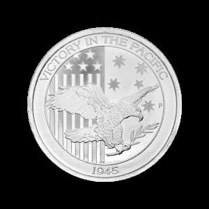 1/2 oz Silbermünze - Sieg im Pazifik - Zufallsjahr