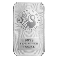 1 oz Perth Mint Kangaroo Silver Bar