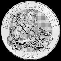 10 oz 2020 Royal Mint Valiant Silver Coin