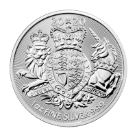 1 oz 2020 The Royal Arms Silver Coin