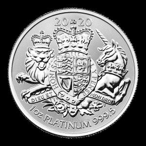 1 oz 2020 The Royal Arms Platinum Coin