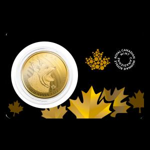 1 oz 2020 Call of the Wild Series | Bobcat Gold Coin