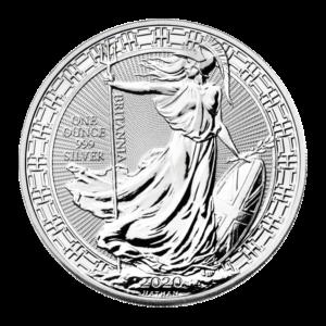 1 oz 2020 Britannia Oriental Border Silver Coin