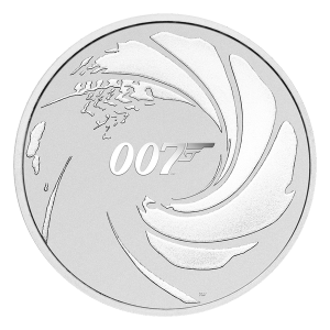 1 oz 2020 James Bond Silver Coin