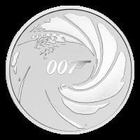 1 oz 2020 James Bond Silver Coin