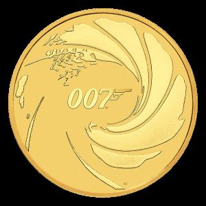 1 oz 2020 James Bond Gold Coin