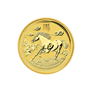 1/4 oz 2014 Lunar Year of the Horse Gold Coin
