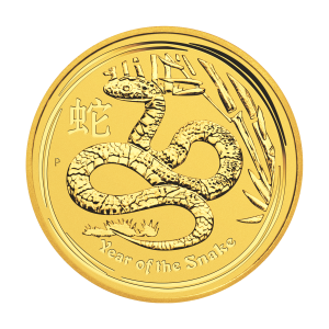 1/2 oz 2013 Lunar Year of the Snake Perth Mint Gold Coin