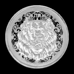1 oz Roaring Lion Silver Coin