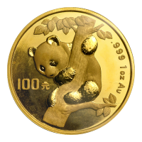 1 oz 1996 Chinese Panda Gold Coin