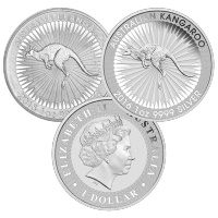 1 oz Random Year Australian Kangaroo Silver Coin