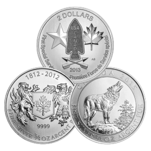 3/4 oz RCM Assorted Silver Coin